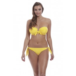 BEACH HUT merevítős levehető pántos bikini felső
