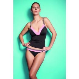 SAMBA retro bikini alsó - csokoládé