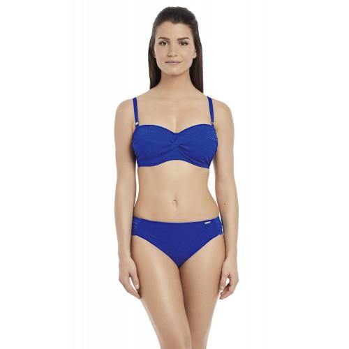 OTTAWA merevítős levehető pántos bikini felső - kék