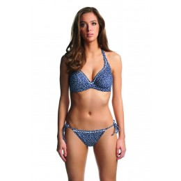 CALAMITY oldaltkötős bikini alsó - kék