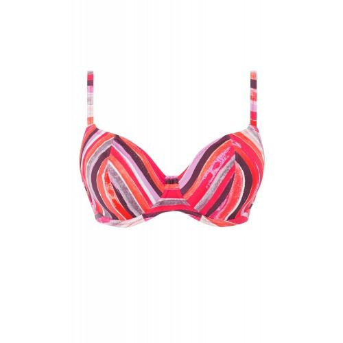 BALI BAY merevítős mélykivágású bikini felső
