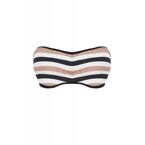 SET SAIL merevítős levehető pántos bikini felső