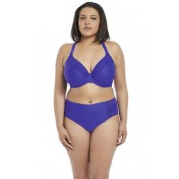 INDIE merevítős mélykivágású bikini felső - kék