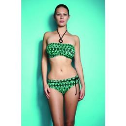 LIMBO merevítős vállpánt nélküli bikini felső