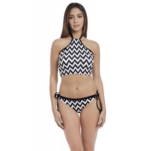 MAKING WAVES oldaltkötős bikini alsó