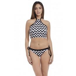 MAKING WAVES merevítős szivacsos bikini top