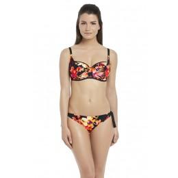 KO PHI PHI merevítős félkosaras bikini felső GG-HH kosárig
