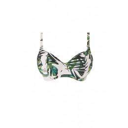 PALM VALLEY merevítős szivacsos félkosaras bikini felső