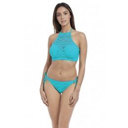 SUNDANCE merevítős szivacsos bikini top - türkiz