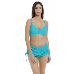 SUNDANCE merevítős szivacsos bikini felső - türkiz