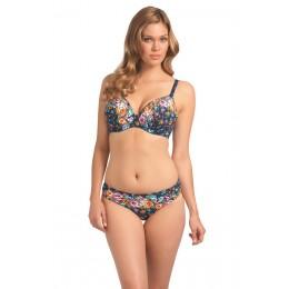MEMPHIS mélykivágású bikini felső