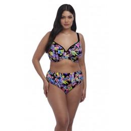 ELECTROFLOWER merevítős hátul keresztezhető pántos bikini felső