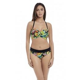 ELECTRO BEACH visszahajtós bikini alsó