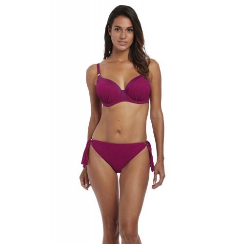 OTTAWA merevítős szivacsos bikini felső - eper