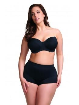 ESSENTIALS merevitős levehető pántos bikini felső
