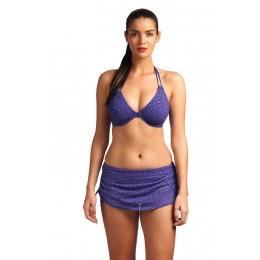 SPIRIT nyakbakötös bikini felső - indigó