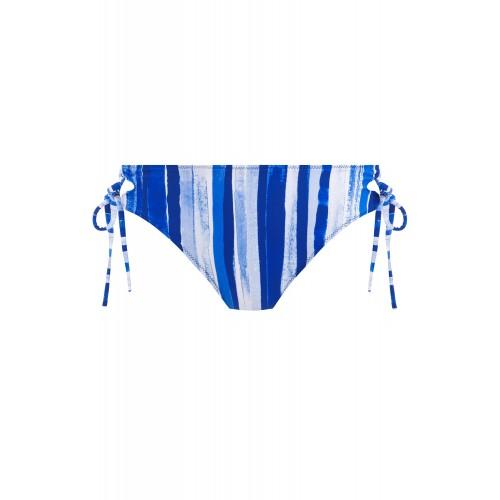 BALI BAY oldaltkötős bikini alsó - kék