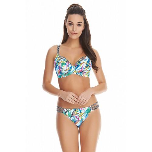 TROPICOOL merevítős mélykivágású bikini felső