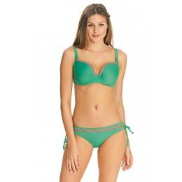DECO SWIM előformázott szivacsos bikini felső - zöld