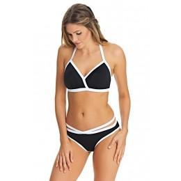 BACK TO BLACK pántos bikini alsó