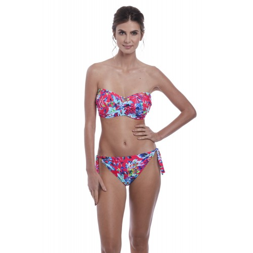 FIJI oldalkötős bikini alsó - piros